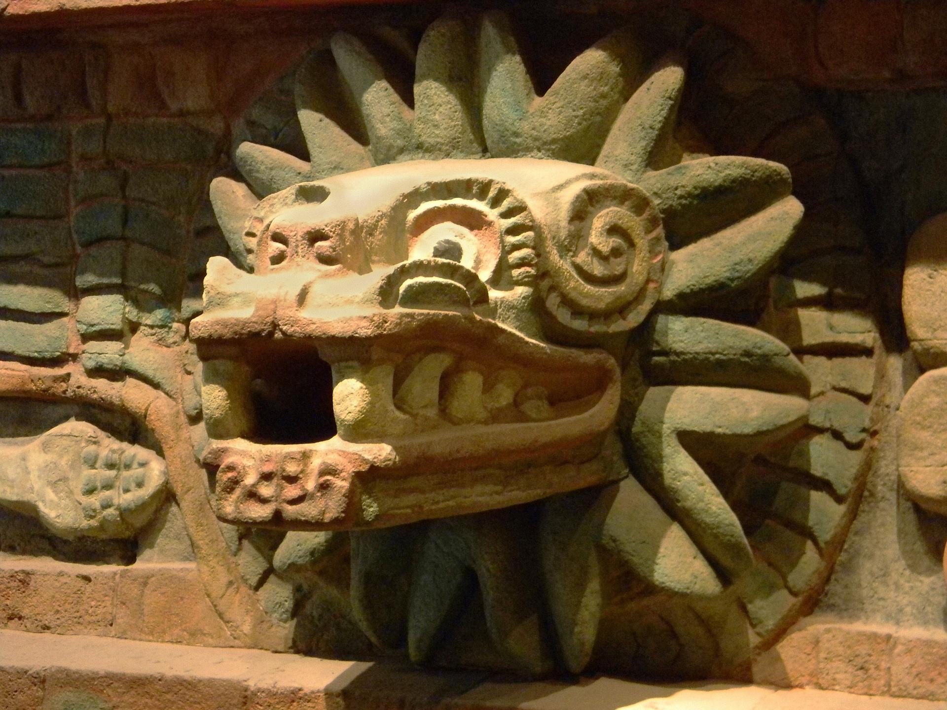 aztekische todespfeife
