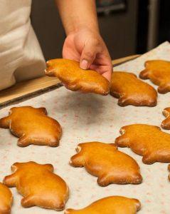 心を温める「小さい豚」のパン
