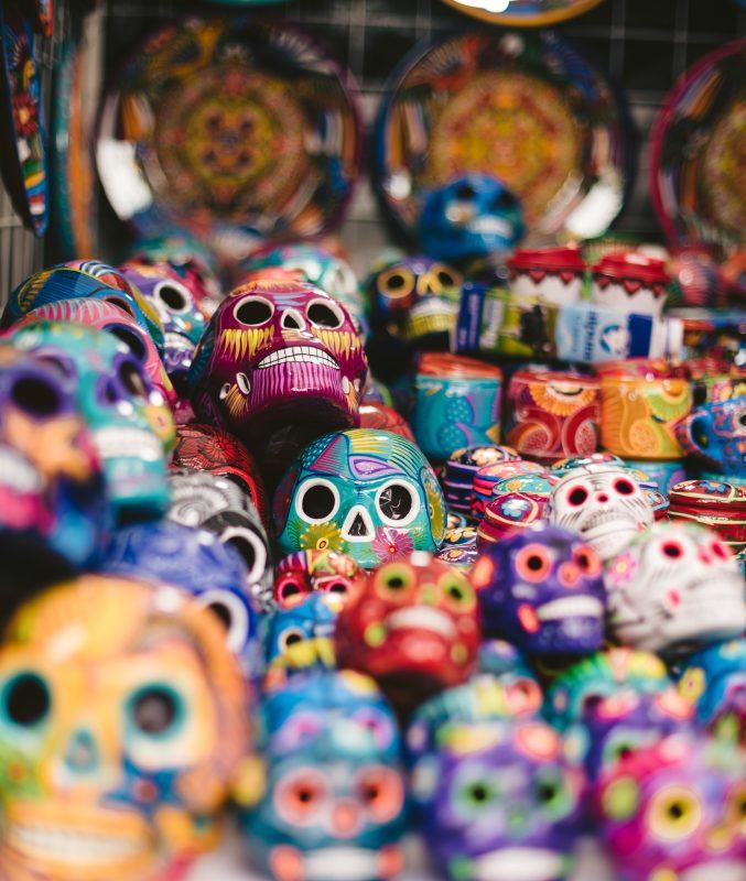 CISNEROS教授レッスン1。メキシコの「死者の日」